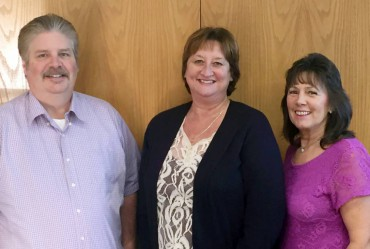 Port Commissioners 2015 — L-R: Scott Cooper, Jean Farmer, and Judy Scott